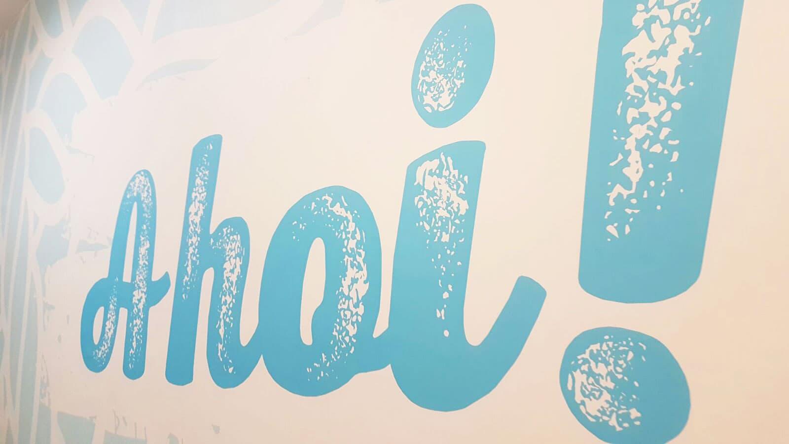 strandhaus moerbisch folienbeklebung schildermontage