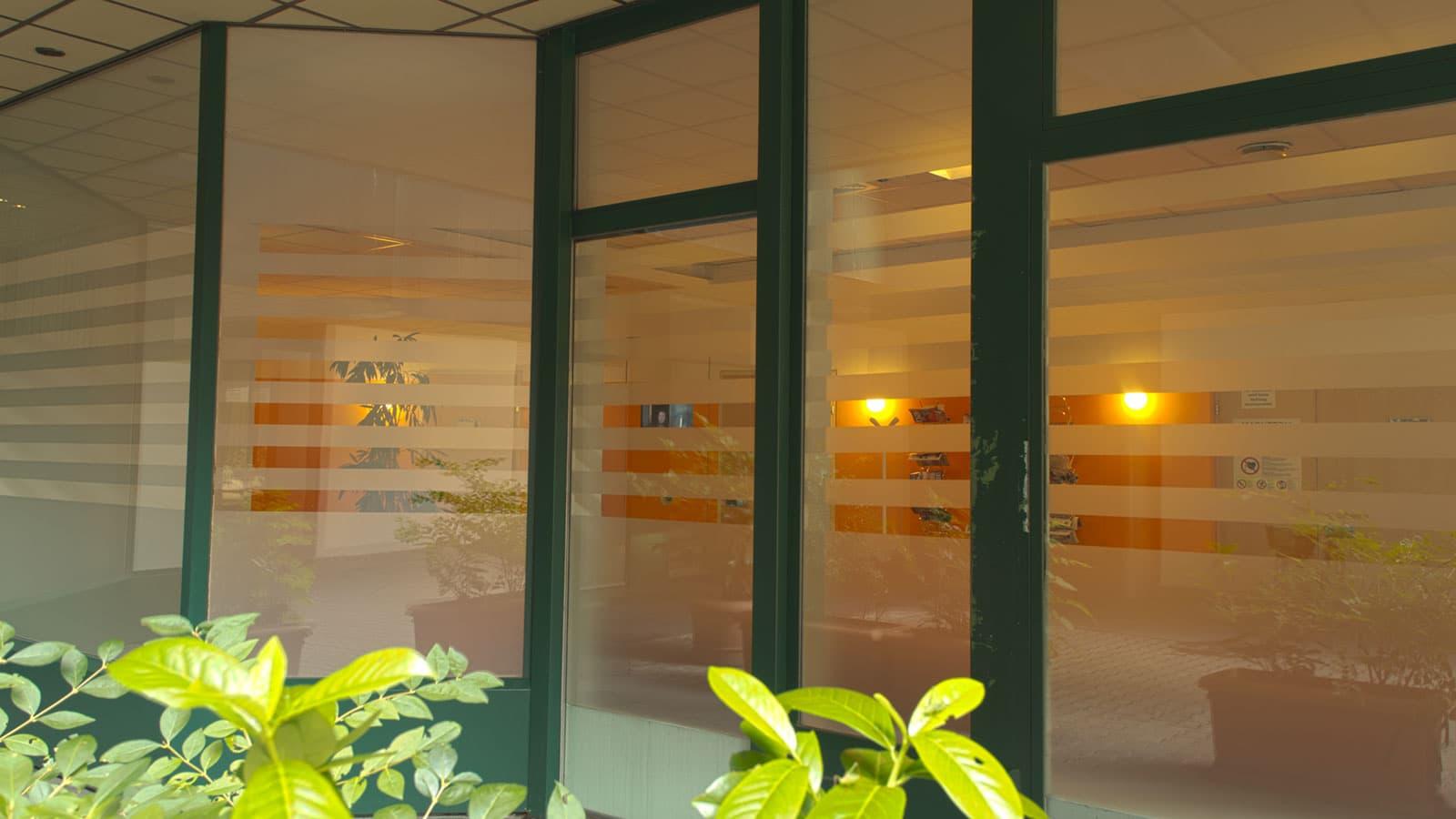Sichtschutzfolien, Milchglasfolien, Diagnosezentrum Miedling